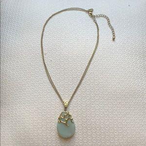 Lia Sophia faux turquoise necklace
